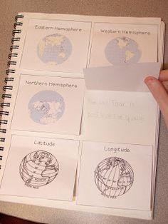 Interactive Geography Notebook ideas, with free download