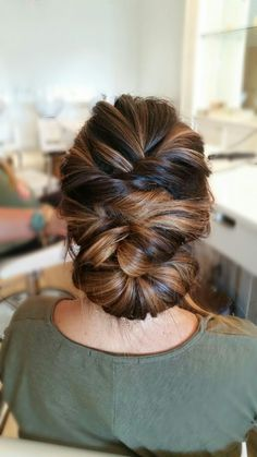 Stunning #updo by Sarah at The Blowout Bar in Dublin, Ohio.