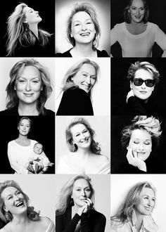 Lets face it you guys, Meryl Streep has always been a babe. #Celebrity #MerylStreep #Hair #Stunning #Beauty
