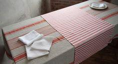 Linen tablecloth natural linen tablecloth linen by AlisLinen