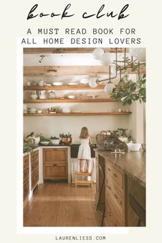 Coffee table book ideas: Down to Earth picks up right where Lauren Liess's critically acclaimed Habitat left off. While Habitat walked readers through the decorating process step-by-step, Liess's latest title takes a step beyond the basics and invites readers to incorporate the main components of her familiar design aesthetic: nature, easy living, and approachability.  It focuses on creating a lifestyle that inspires creativity and functionality.  Click to learn more and shop! #book #hgtv