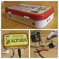 5 uses for Altoid tins. Goodness knows we have a bunch of these hanging around.