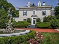 Tour Oakwood Estate in Newport, R.I. | HGTV.com's Ultimate House Hunt >> http://www.hgtv.com/design/ultimate-house-hunt/2015/homes-with-a-history/homes-with-a-history-oakwood-estate-in-newport-ri?soc=pinhuhh