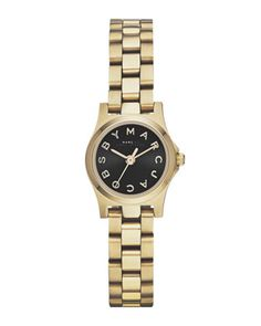 Henry Dinky Analog Watch, Light Golden by MARC by Marc Jacobs at Neiman Marcus.