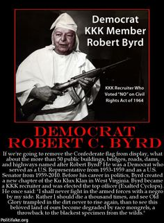 Image result for robert byrd kkk