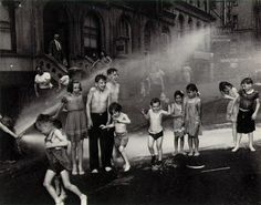 "Weegee, ""summer in the lower east side"" 1937. 1930's street photography"