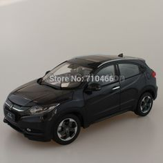 Black 1:18 Honda Vezel HRV 2015 SUV Diecast Model Car World Premiere Exclusive Gifts H-RV H RV #Affiliate