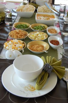 Burmese Khao suey