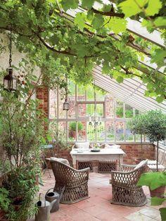 V randa en fer forg avec balcon fer forg pinterest v randas veranda - Construire jardin d hiver ...
