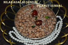 As Navratri season, I have been trying out sundal and sweet recipes as offering to Goddess. I have shared few sundal recipes, and now this is a new entry to my sundal list – Peanut Sundal / Nilakad...