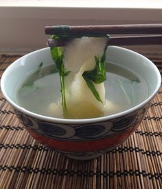 Starting the New Year off right with Ozoni: Japanese New Year's Soup for good luck (also good for a hungover stomach!)