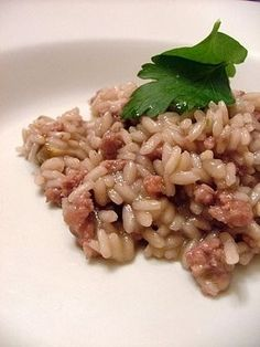 Hobbies For Seniors Product Rice Recipes, Cooking Recipes, Italian Rice, Rice Dishes, Light Recipes, Gnocchi, My Favorite Food, Food Inspiration, Italian Recipes