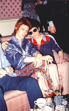 David Bowie and Lou Reed.  Just add Freddy Mercury and I'm in heaven.