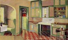 1930s kitchen - Google Search