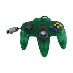 TTX Tech Controller OG-Clear Green, Nintendo 64