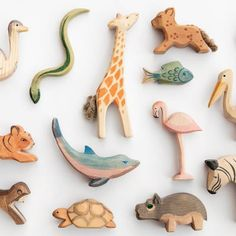 Eco friendly gifts for kids - baby products list Natural Toys, Natural Baby, Eco Kids, Eco Friendly Toys, Sustainable Gifts, Wooden Animals, Gifted Kids, Montessori Toys, Diy Toys