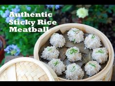 How to Make Hubei Sticky Rice Pearl Meatballs (珍珠丸子) - YouTube