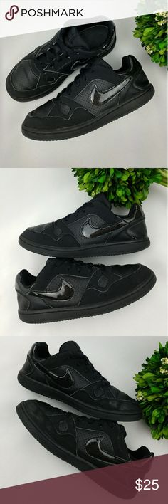 Nike Son of Force Black sneakers Boys Nike Son of Force Black sneakers Boys Have been washed and sanitized. There are signs of wear, scuffs/stains, shoe lace is kind of fuzzy. Have lots of life left in them. Size 1.5 Y 20.5 cm Nike Shoes Sneakers