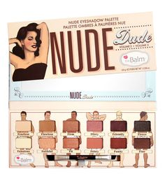 THE BALM - Nude Dude Vol.2 Palette