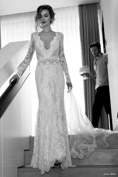 Lili Hod - 2015 Film Noir in White, Bridal Collection