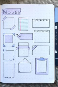 Bullet Journal School, Bullet Journal Paper, Bullet Journal Headers, Bullet Journal Lettering Ideas, Bullet Journal Notebook, Bullet Journal Ideas Pages, Book Journal, Bullet Journal Simple, Organization Bullet Journal