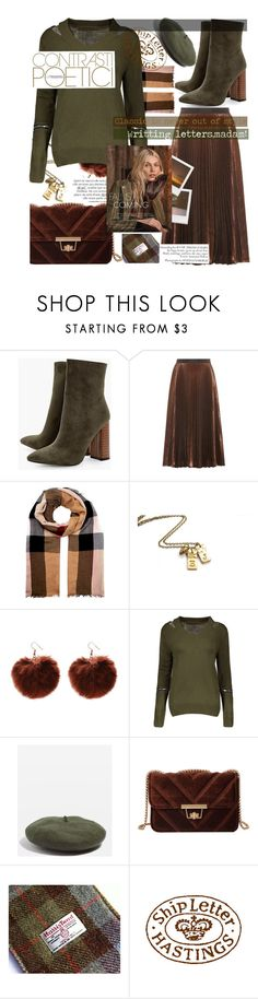 """""""Writting letters and madam style,that was a time!📜"""" by jelena-bozovic-1 on Polyvore featuring Boohoo, Christopher Kane, Burberry, Impossible Project, Topshop and Urban Outfitters"""