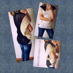NEW Crocheted cardigan black and ivory two tone. Now for sale in my shoplink in bio#crochet#design#fashion#crochettop#crochetcardigan#festivalfashion#model#instafashion#spring#summer#swag#swagger#diy#oneofakind#gorgeous#mylook#fashionista#shoplocal#smallbusiness#follow#etsy by cozycreativecrochets