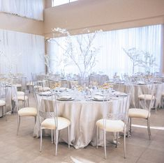 Such a dreamy setup😍Choosing a specific color palette for your event can bring everything together! Reception Decorations, Wedding Centerpieces, Wedding Table, Table Decorations, Diy Your Wedding, Greenery Decor, Wedding Designs, Wedding Ideas, Northern California