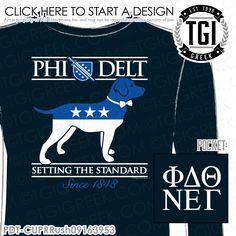 TGI Greek- Phi Delt- Greek Apparel #PhiDelt #Rush #Recruitment…