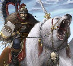 kislev bear cavalry - Sök på Google