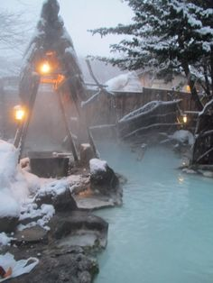 Hot Springs in Japan - 点击图片,在新窗口显示原始尺寸