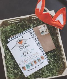 Oliver the Fox turned one last February. We had designed his nursery in a (loose) 'adventure' theme, sowe thought it'd be fun to celebratehis1st birthday wi