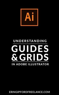 Getting into the habit of using guides and grids when you design inside Adobe Illustrator is a great habit to get into. Once you get in the habit of using them it will not only add professionalism to your designs but it will increase your efficiency as we Web Design, Graphic Design Tools, Freelance Graphic Design, Graphic Design Tutorials, Graphic Design Inspiration, Tool Design, Design Process, Vector Design, Layout Design