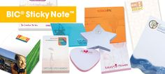 BIC® Sticky Note™ Realtor Gifts, Branding Ideas, Sticky Notes, Just Do It, Office Supplies, September, Marketing