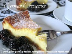 Yummy German cheesecake to make with your homemade quark. http://www.quick-german-recipes.com/german-cheesecake-recipe.html