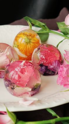 Who needs a bouquet of flowers when you can have edible flowers?