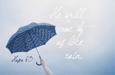 Sometimes our blessings come through the rain!!