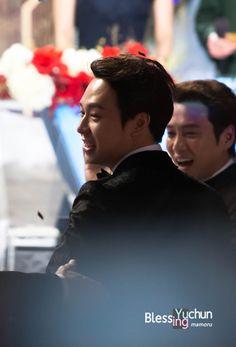 31December2014 Park Yuchun at the 2014 SBS Drama Awards