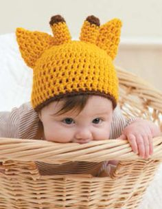 crochet baby giraffe and diaper cover - free pattern