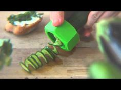Kitchen gadgets for fun cooking. Monkey Business-Cucumbo spiral slicer