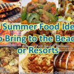 10 Summer Food Ideas to Bring to the Beach or Resorts Grilled Squid, Grilled Prawns, Grilled Seafood, Grilled Pork, Chicken Sisig, Pork Sisig, Chicken Livers, Bangus Recipe, Sisig Recipe
