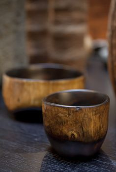 Einstein Albert designs bowls and utensils made from that is indigenous to the Aquin, Nippes and Gonave regions of Haiti.