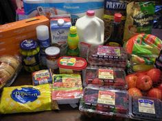 One Income Family Living: How I spend my $50 grocery budget: week 6/11/12