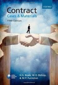 Contract : cases and materials / H.G. Beale, W.D. Bishop, M.P. Furmston. - 5ª ed. - 2008
