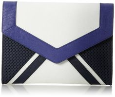 Juicy Couture Sierra Colorblock Leather Clutch