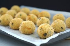 Gluten Free Tuna and Ricotta Balls!   Perfect for entertaining, as appetizers or as a snack!