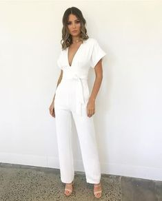 Trendy fashion show party classy 45 ideas Trendy Dresses, Cute Dresses, Casual Dresses, Casual Shoes, White Fashion, Trendy Fashion, Fashion Outfits, Fashion Show Party, Wedding Jumpsuit