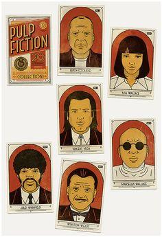 Todo mundo calmo, isto é um assalto! Uma homenagem ao filme mais icônico do mestre Tarantino. Para o aniversário de 20 anos do filme Pulp Fiction do diretor Quentin Tarantino, o time do Studio MUTI se reuniu para criar esta série de pôsteres que apresentam cada um dos personagens principais, que são muitos, com ar (...)