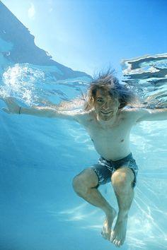 Kurt Cobain by Kirk Weddle, 1991