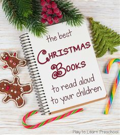 Best Christmas Picture Books - I love all of the titles. Perfect for preschool!!